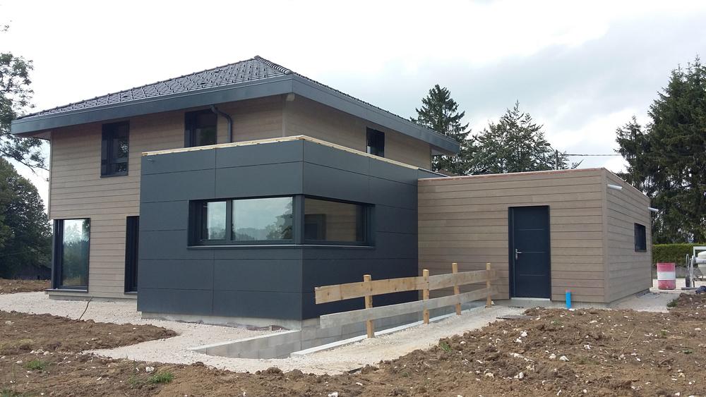 Assez Myotte Duquet architecture bois, Actualités - Maison 4 pans en  FH62
