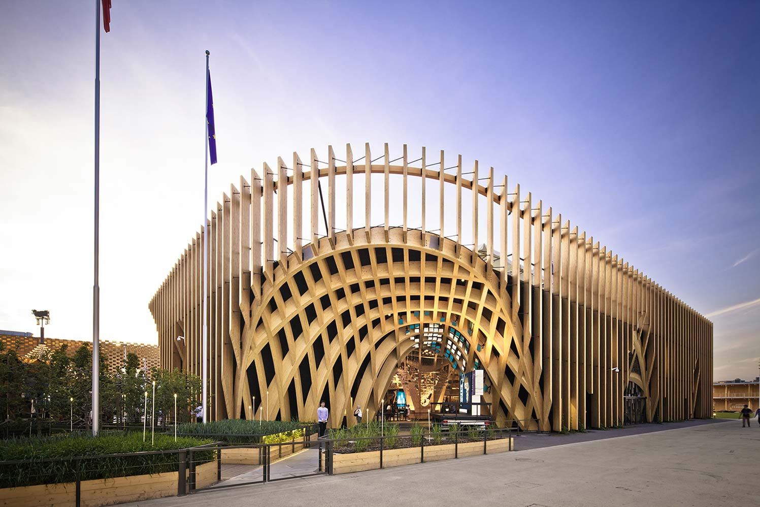 Myotte duquet architecture bois actualit s expo for Architecture en bois