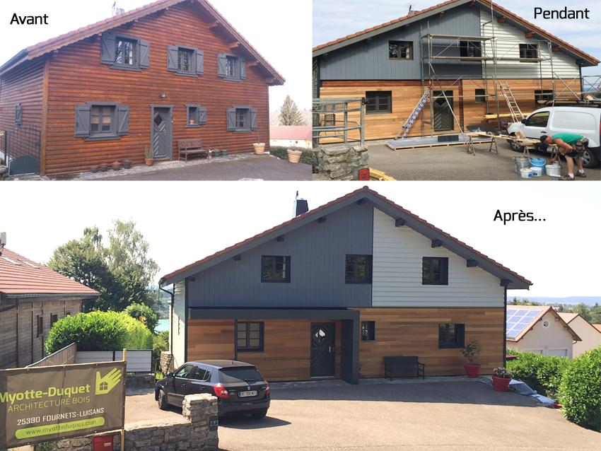 Myotte Duquet Architecture Bois Actualit S R Novation De Maison Clervaux Les Lac