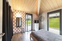 Maison bois crépis contemporaine, Longemaison (2018)
