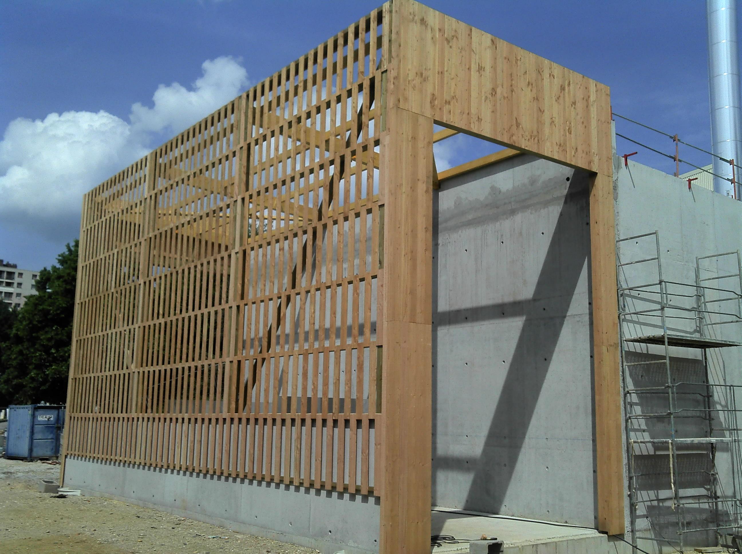 Myotte duquet architecture bois actualit s chaufferie for Piscine mallarme besancon