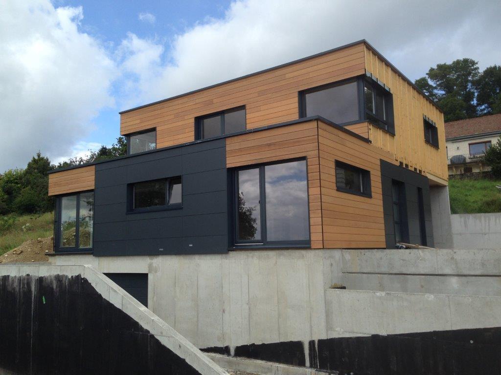 Souvent Myotte Duquet architecture bois, Actualités - Maison en cours à  CA07