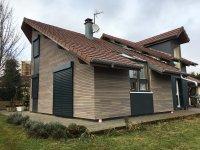 Relooking de façades à Fournets-Luisans, Fournets-Luisans