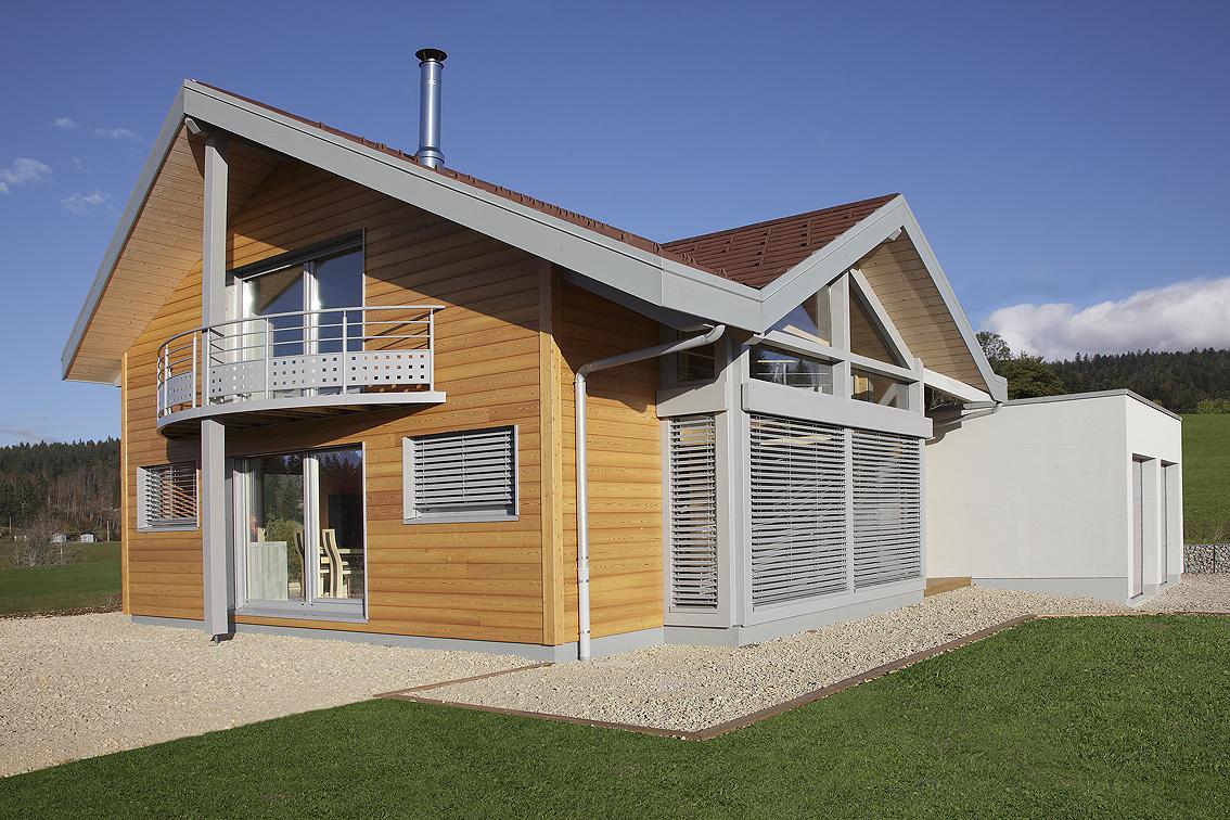 Myotte duquet architecture bois actualit s nouveau reportage maison lamoura - Reportage renovation maison ...