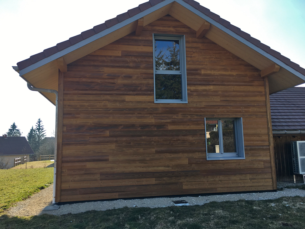 myotte duquet architecture bois actualit s extension en cours de finition aux combes 25. Black Bedroom Furniture Sets. Home Design Ideas