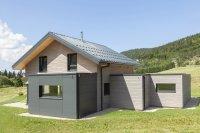 Maison ossature bois dans le Jura, Bois d'Amont (39)