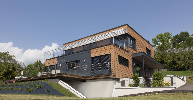 Myotte duquet architecture bois actualit s nouveau for Reportage renovation maison