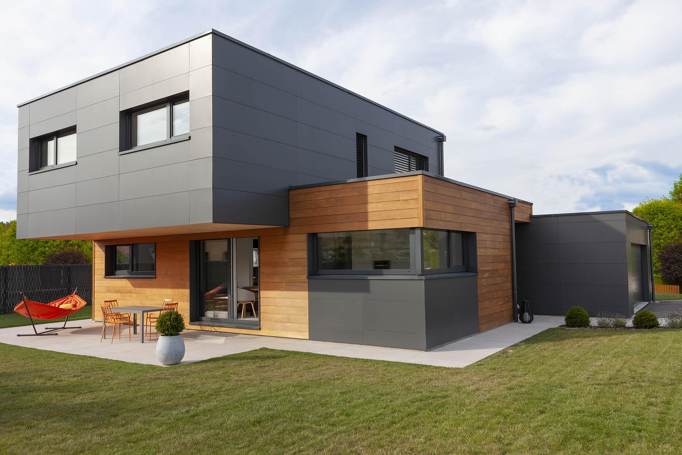 Maison Contemporaine Toit Terrasse maison contemporaine en toit plat