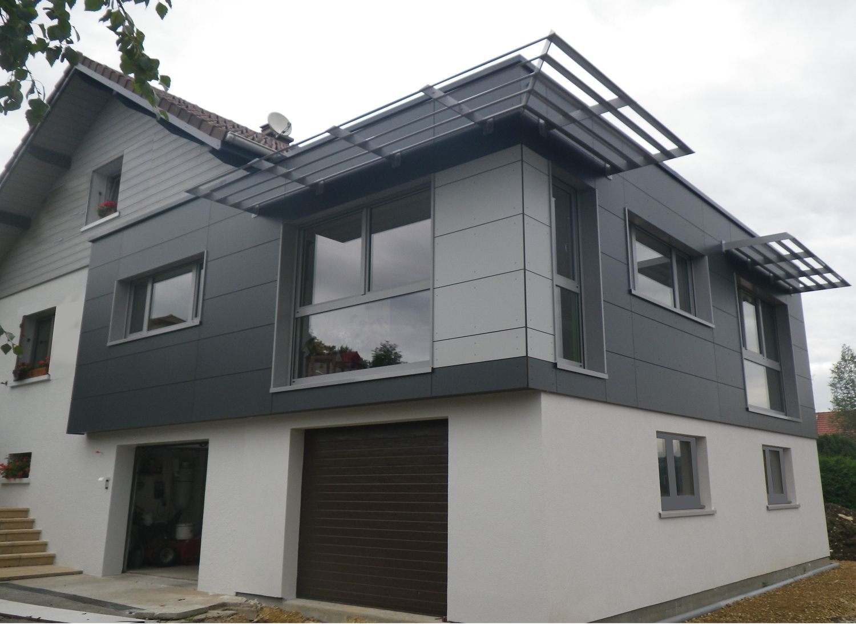 Myotte duquet architecture bois actualit s fin des travaux d 39 extension - Reportage renovation maison ...