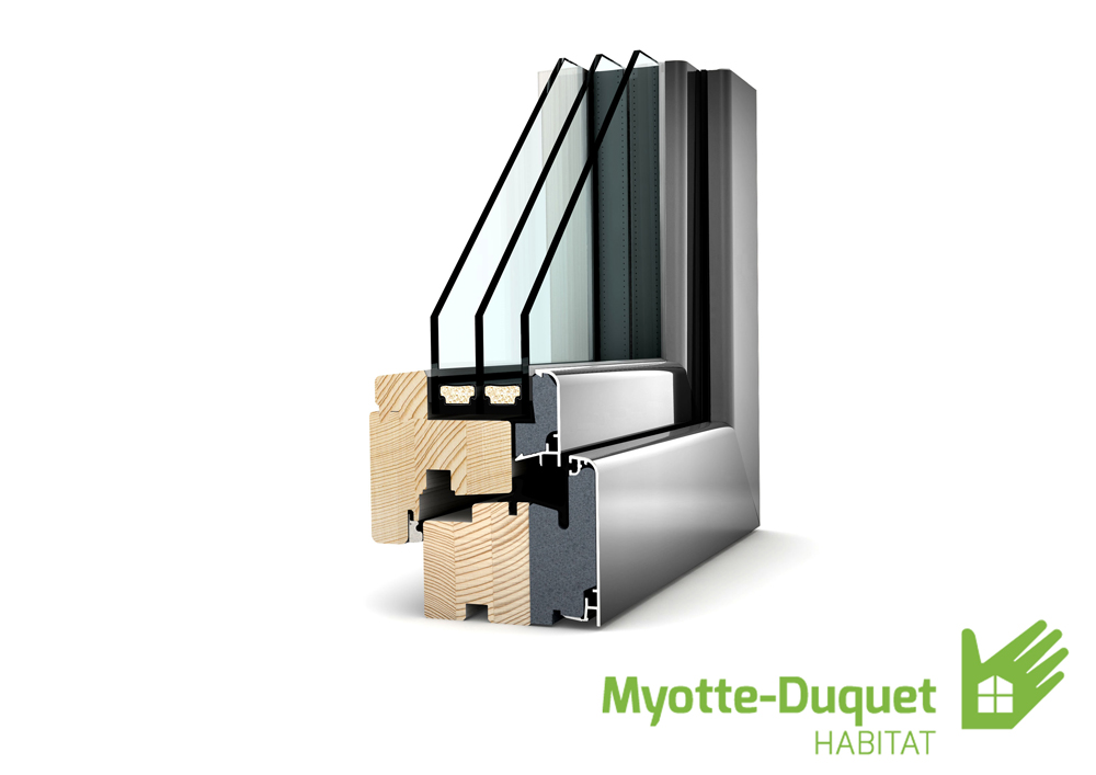 Myotte duquet architecture bois internorm for Fenetre internorm