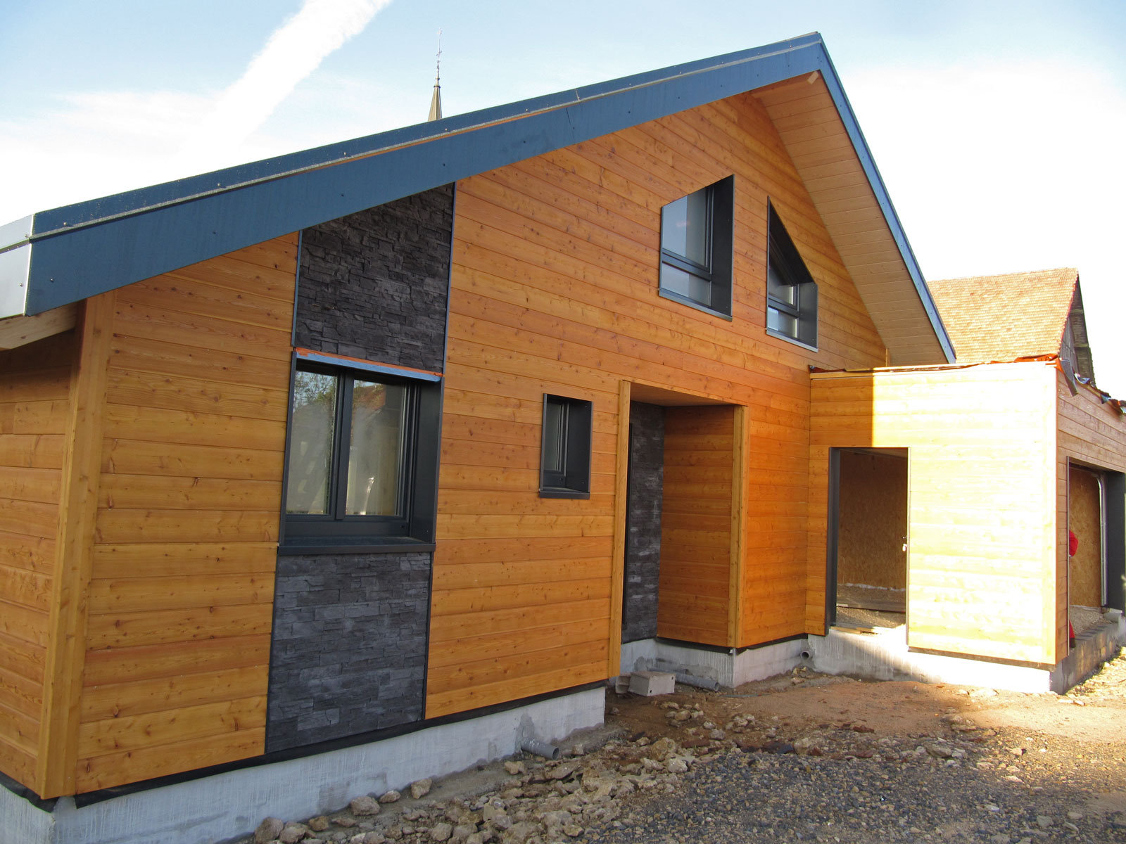 Myotte duquet architecture bois actualit s maison for Maison meleze