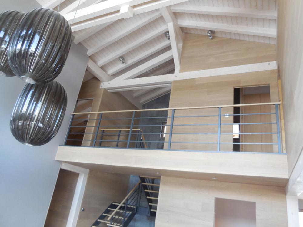 myotte duquet architecture bois actualit s chalet bois contemporain termin crest voland. Black Bedroom Furniture Sets. Home Design Ideas