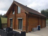 Isolation thermique extérieure et relooking aux Arces, Les Arces (MORTEAU) 2016
