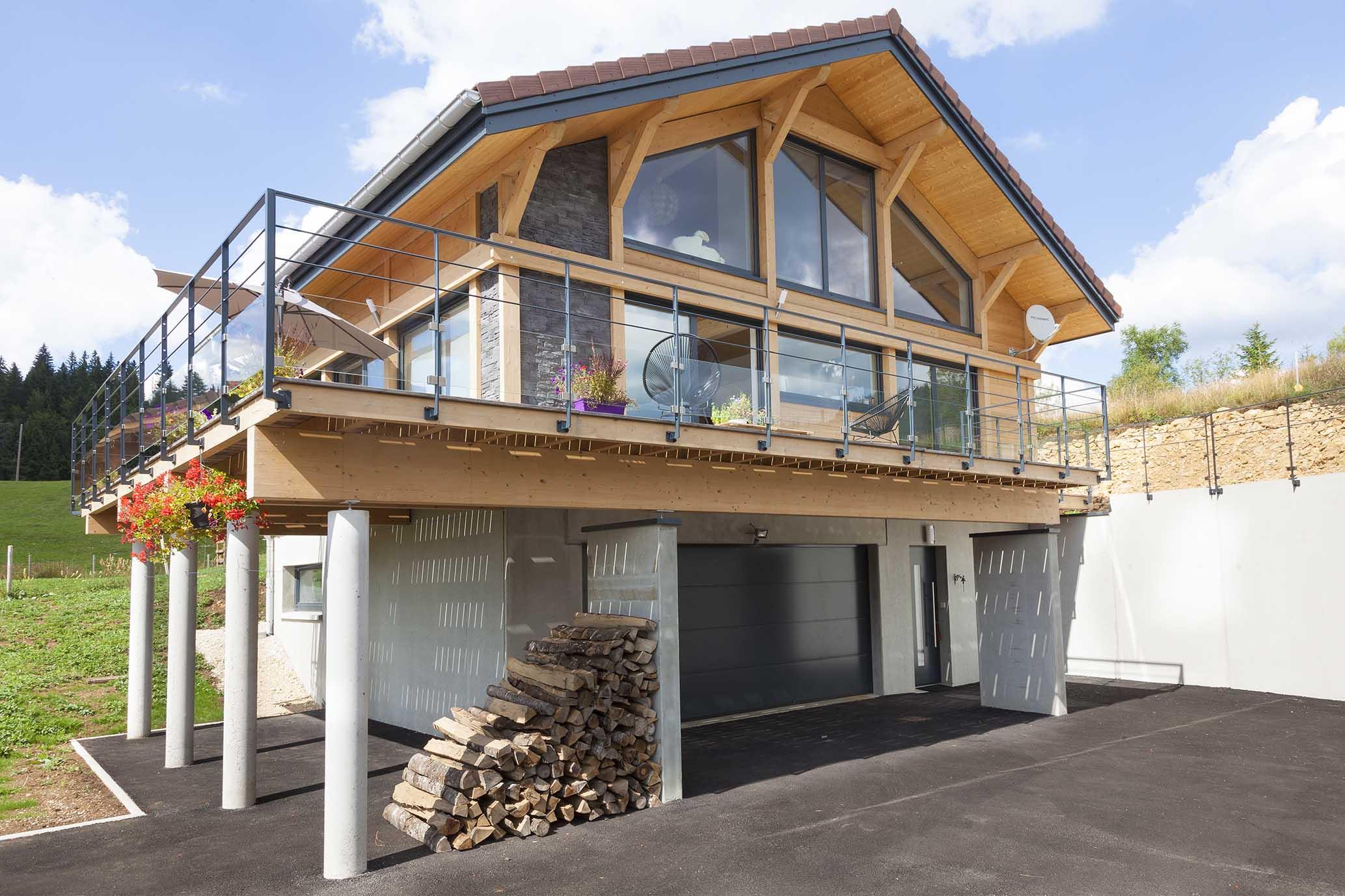 Myotte duquet architecture bois actualit s nouveau reportage photo sur une - Reportage renovation maison ...